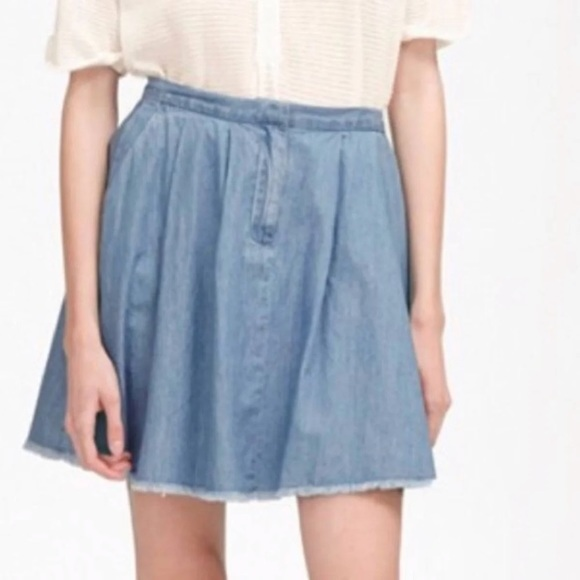 French Connection Dresses & Skirts - French connection denim skirt
